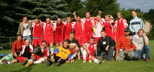 Muži TJ Vavřinec - jaro 2008