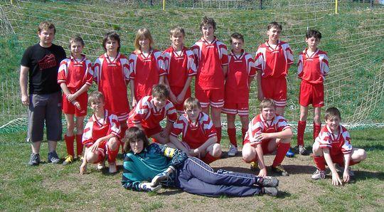 Žáci TJ Vavřinec - podzim 2006